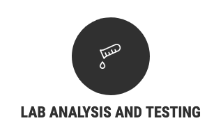 Lab analysis and testing
